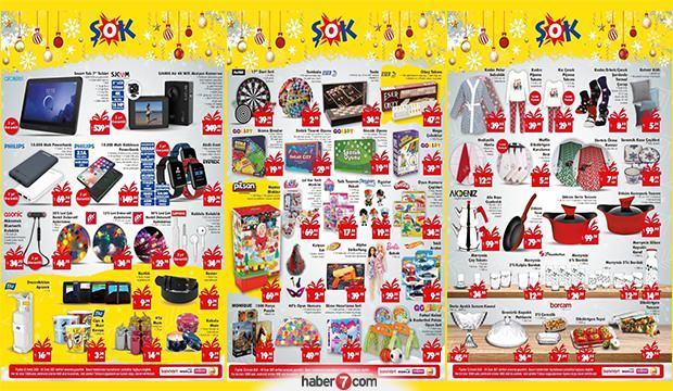 31 Aralık ŞOK aktüel kataloğu! Elektronik, gıda, tekstil ve züccaciye ürünlerinde...