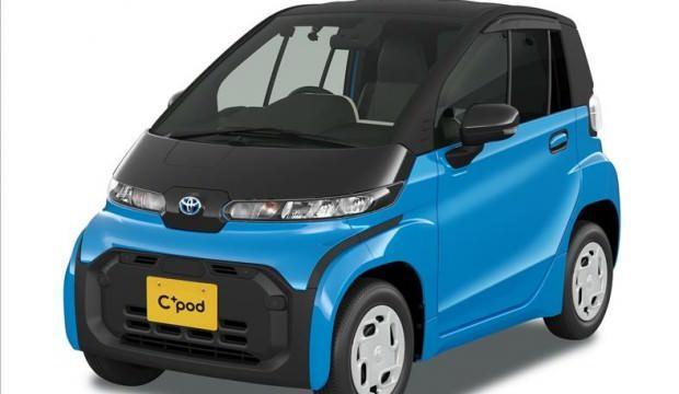 Toyota'nın elektrikli aracı C+Pod satışa sunuldu