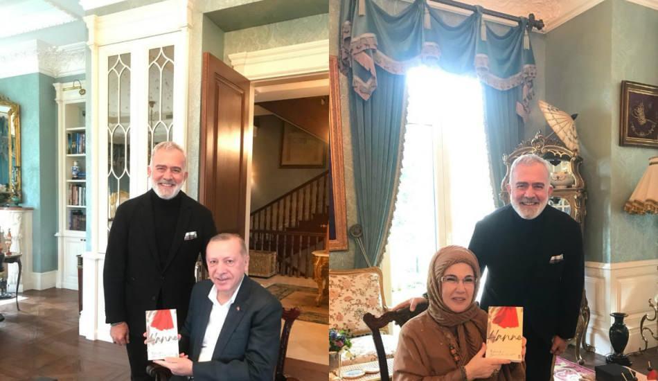 Usta sanatçı Bahadır Yenişehirlioğlu'ndan Başkan Erdoğan'a ziyaret!