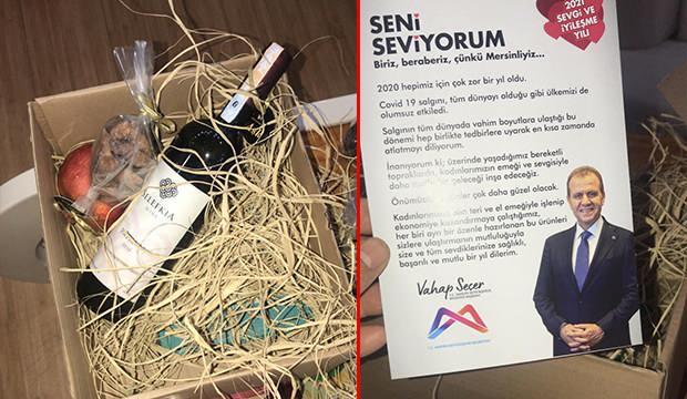 CHP'li belediye yılbaşı hediyesi olarak şarap ve çerez yolladı! - GÜNCEL Haberleri