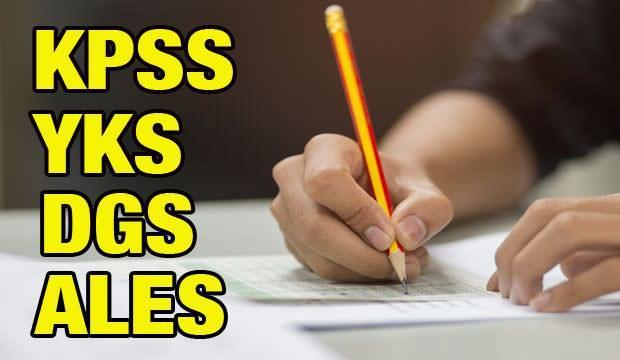 2021 yılında YKS, DGS, KPSS ve ALES sınavları ne zaman? ÖSYM sınav takvimi!
