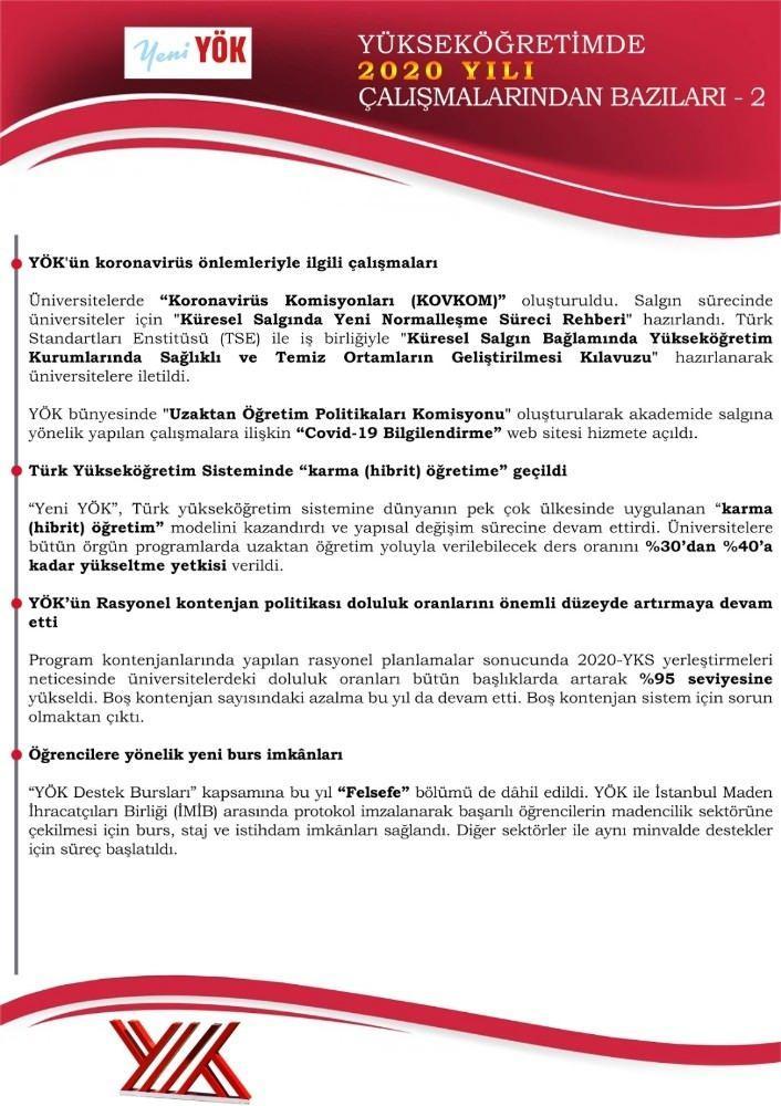 Son dakika haberi: YÖK Başkanı Yekta Saraç duyurdu: Yükseköğretim sistemi değişiyor!