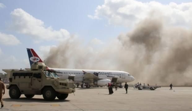 Aden Havalimanı'ndaki patlamada ölü sayısı 22'ye yükseldi