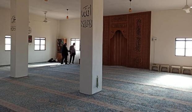 Barış Pınarı Harekatı şehidi Rahmi Kaya adına Tel Abyad'da cami açıldı