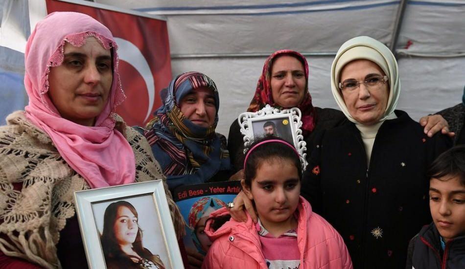 Emine Erdoğan'dan 'Diyarbakır Anneleri' paylaşımı!