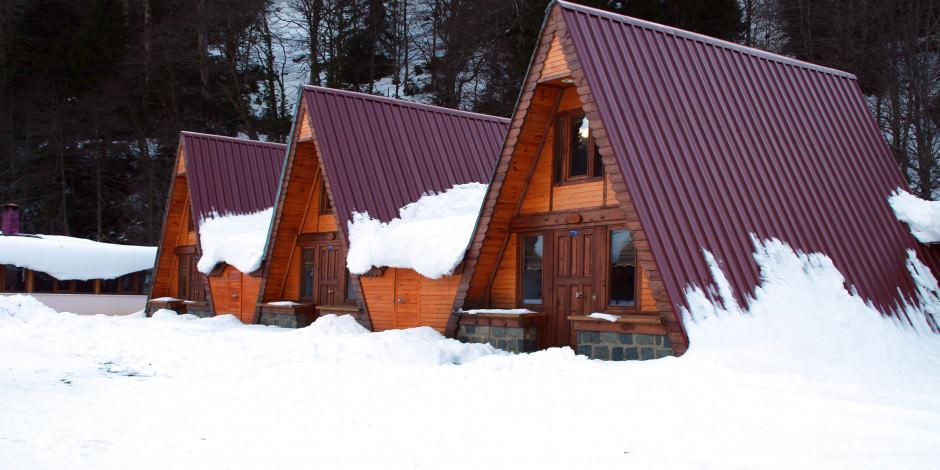 Yılbaşında tatilcilerin tercihi bungalov evler oldu