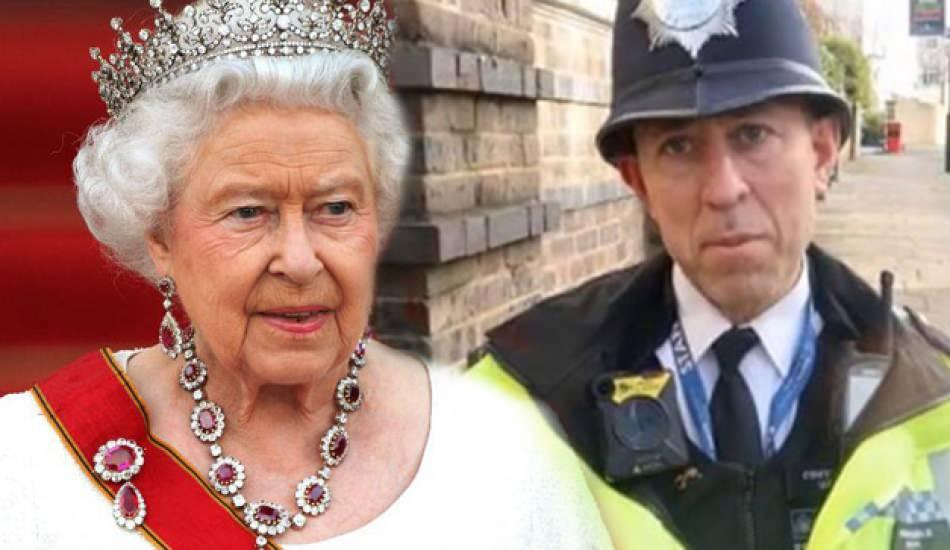 30 yıldır İngiltere'de polislik yapan Türk vatandaşa Elizabeth'ten ödül!