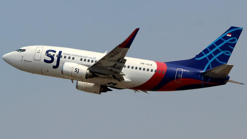 Sriwijaya Air'e ait Boeing 737-500