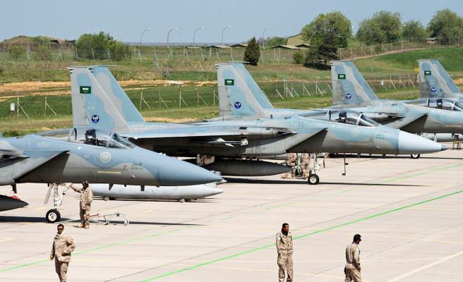 Son dakika: Türkiye'ye karşı yeni cephe! Prens Selman talimat verdi Yunan pilotlar...