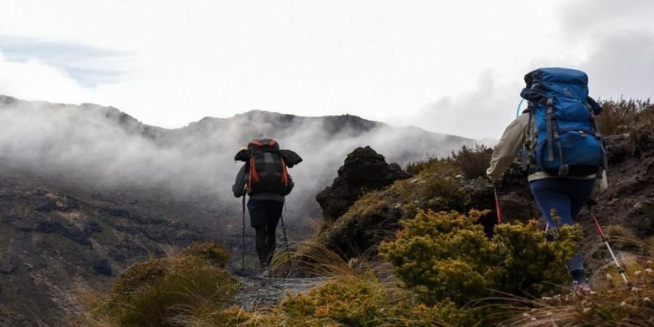 Endişelerden uzak Yeni Zelanda'nın Tongariro Milli Parkı'nda günübirlik gezi