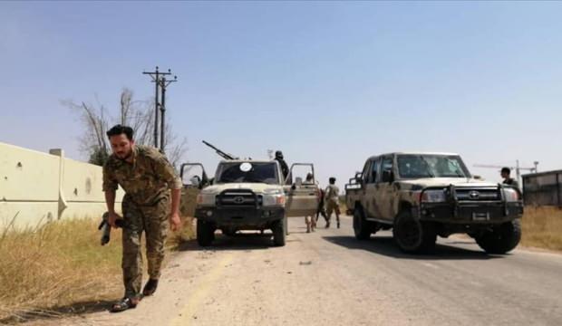 Libya ordusu: Hafter milisleri ateşkesi ihlal etti