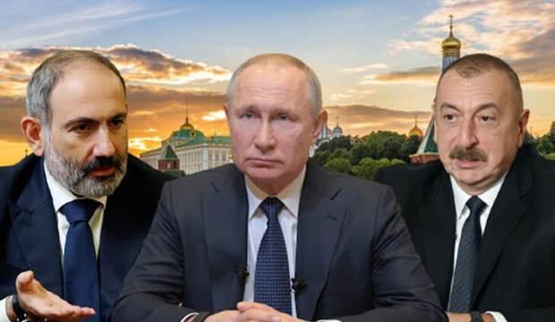 Putin, Aliyev ve Paşinyan'la görüşecek!