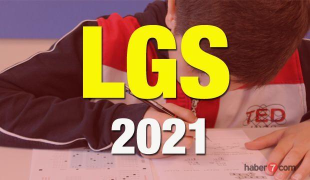 2021 LGS sınavı ne zaman?  MEB Liseye Geçiş Sınavında öğrencilerin sorumlu olduğu konular...