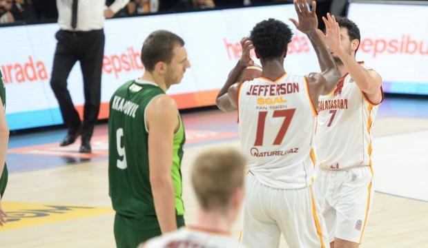 Galatasaray son periyotta kazandı