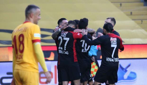 Gaziantep FK zirve takibini sürdürdü!