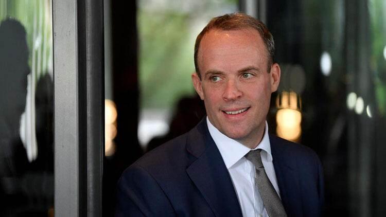 İngiltere Dışişleri Bakanı Dominic Raab