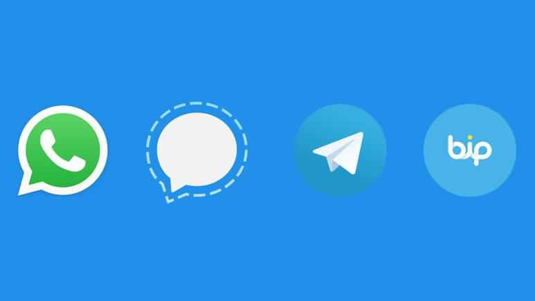 WhatsApp'a başlatılan boykot sonrası Telegram, Signal ve Turkcell'in geliştirdiği BİP uygulaması ön plana çıktı.