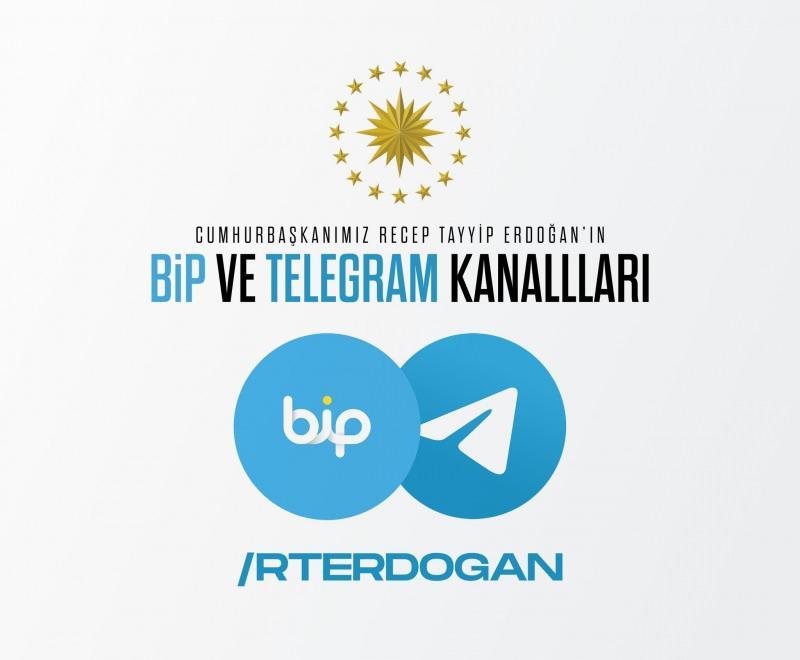 Erdoğan, BİP, Telegram