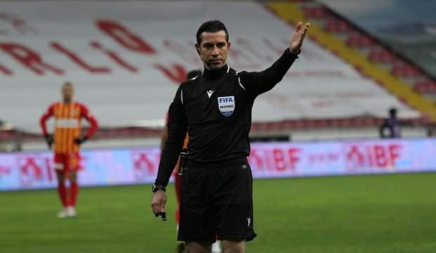 Antalyaspor-Trabzonspor maçının hakemi değişti