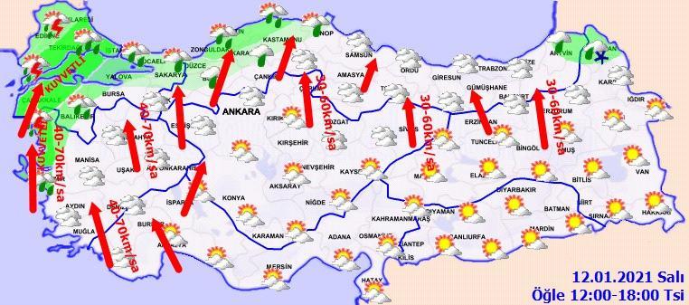 Son dakika: Meteoroloji'den peş peşe uyarılar! Kara geliyor! İstanbul, Ankara ve İzmir'de hava nasıl olacak?