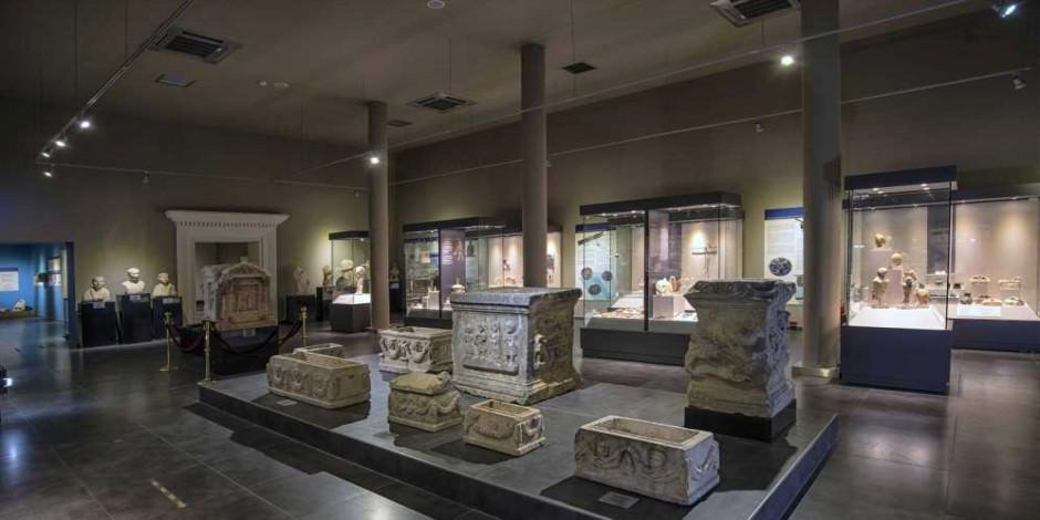 Alanya Müzesi'nde medeniyetler tarihine yolculuk