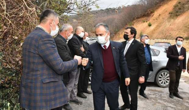 Başkan Alinur Aktaş çiftçiler ile bir araya geldi