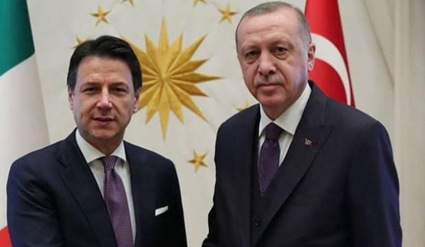 Başkan Erdoğan, İtalya Başbakanı Conte ile görüştü