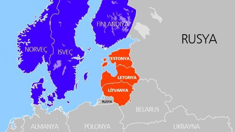 Estonya harita