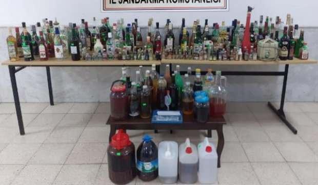 Datça'da sahte içki operasyonu: 1 gözaltı