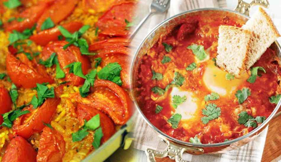 Domatesle yapılan yemek tarifleri neler? En kolay domatesle yapılan tarifler