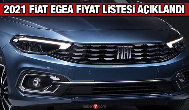 Fiat 2021 model Egea fiyat listesi yayınladı! Fiat Fiorino Doblo 500 Egea fiyat listesi