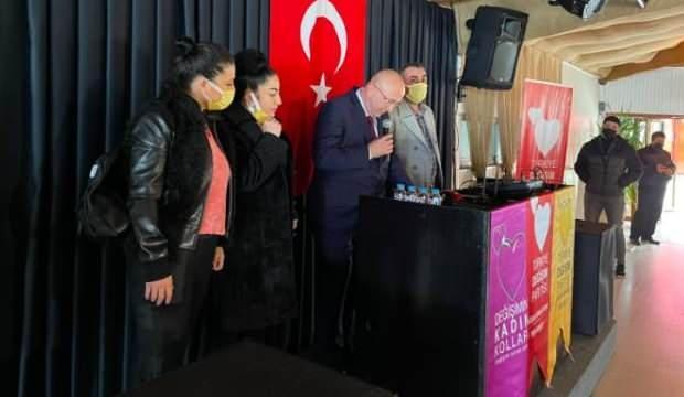 Gelecek Partisi Avcılar İlçe Başkanlığı'ndan istifa eden Ağaoğlu, Sarıgül'ün partisine katıldı