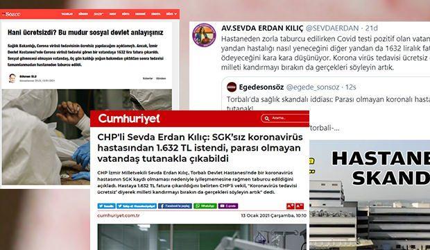 CHP'li vekil Sevda Erdan Kılıç'ın yalanına İzmir Valiliği'nden açıklama!
