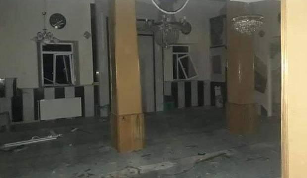 Kayseri'de bir camiye yıldırım düştü