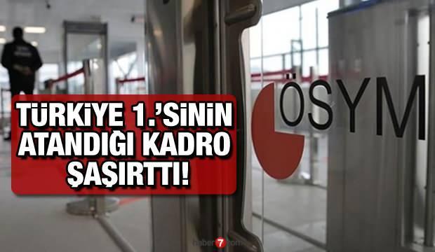 KPSS Türkiye 1.cisi 100 puan ile hizmetli kadrosuna atandı! İkinci aday kaç puan ile atandı?