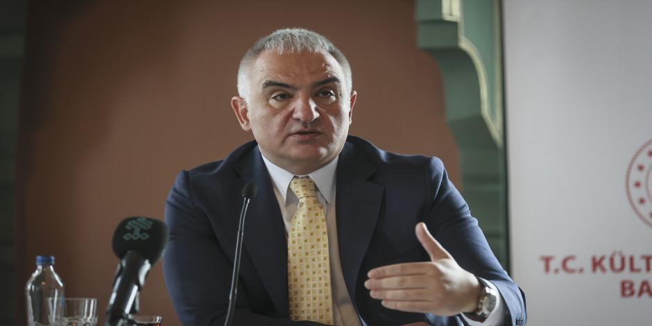 Kültür ve Turizm Bakanı Ersoy, 2020 turizmini değerlendirdi