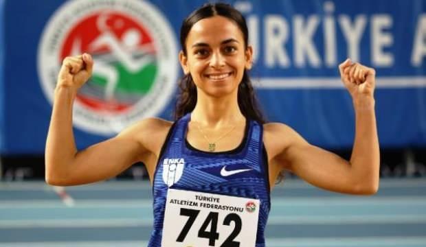 Milli atlet Ayşe Tekdal'dan tarihi rekor
