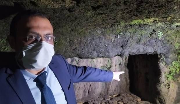 Tarsus'ta şaşkına çeviren görüntü! Sular çekilince ortaya çıktı...