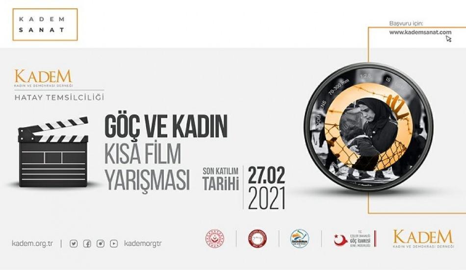 Kadem Hatay Temsilciliği'nden 'Göç ve Kadın' temalı kısa film yarışması