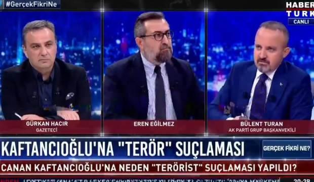 Turan: Kaftancıoğlu'nun muhatabı il başkanımızdır
