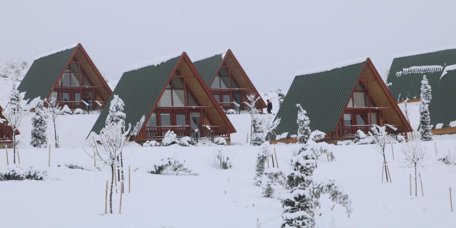 Yıldız kayak merkezi sezona hazırlanıyor