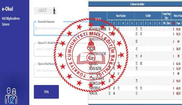 e-Karne yazdırma! 2021 e-Okul VBS İlkokul ve ortaokul karne ve nasıl görüntülenir?