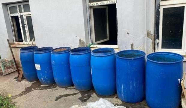 2 bin litre ölüm içkisi yakalandı