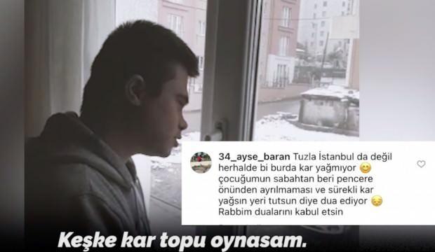Down sendromlu Doğukan'ın duasını duyan Tuzla Belediye Başkanı anında talimat verdi!