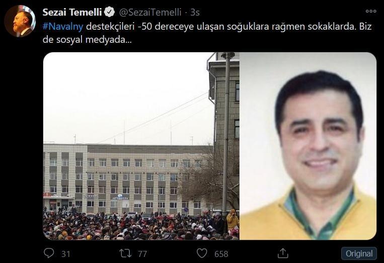 Sezai Temelli - sokak çağrısı