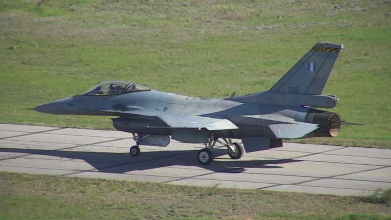 Modernizasyondan çıkan ilk F-16V Block 70'in görüntüsü