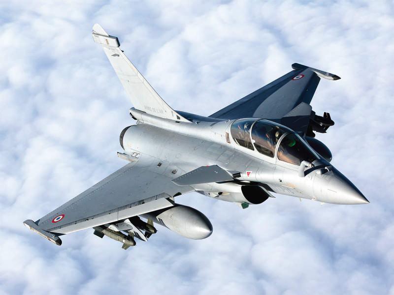 Fransız Dassault firması tarafından üretilen Rafale savaş uçağı