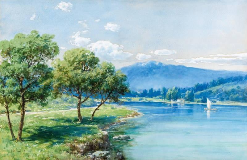 HOCA ALİ RIZA (1858-1930) Peyzaj