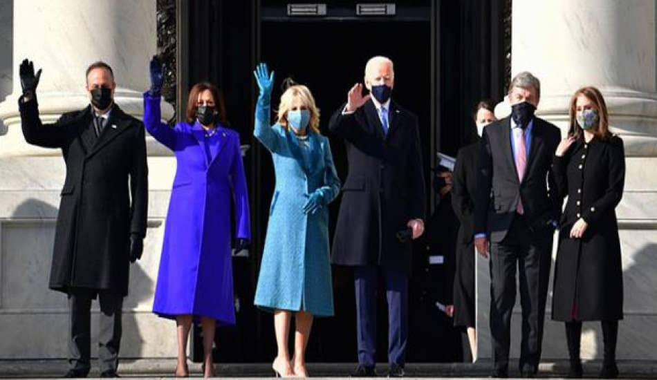 ABD siyasetine damga vuran kadınların yemin törenindeki giydiği kıyafetler
