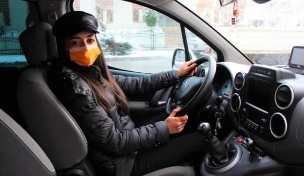 Amasya'nın kamu personeli Şoför Nebahat'i